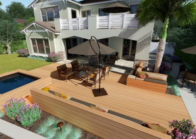 3d backyard design orange county