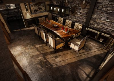 Rustic Dinning Room Designers Orange County
