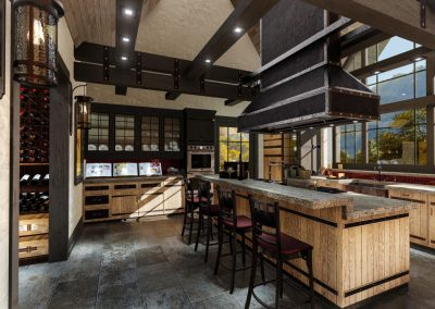 Rustic Kitchen Design Orange County