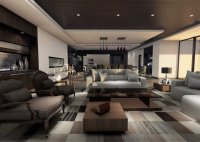 Modern Living Room Design Los Angeles