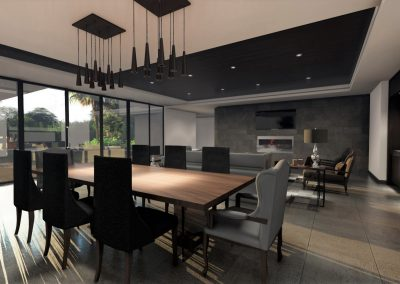 Modern Dinning Room Design Los Angeles