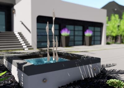 Decorative Water Feature Design Los Angeles